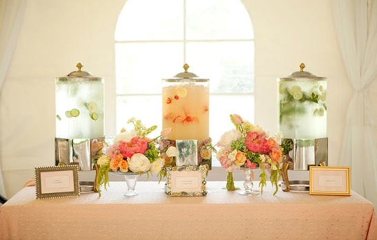 Ottawa Wedding Trends, Drink Stations, Beverage Stations